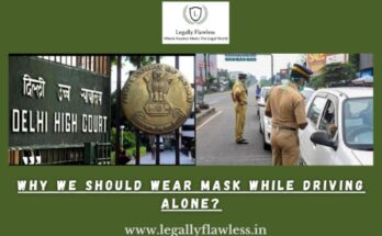 why we should wear mask while driving